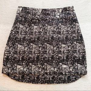 Black + White Banana Republic Skirt